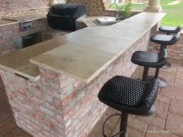 outdoor kitchen countertop ideas outdoor barbeque counter top ideas search deck ideas