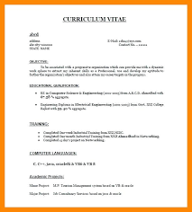Computer Science Resume Example Sample Resume For Fresher Computer Science Engineer Ideas Of