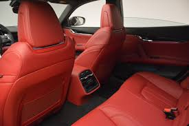 maserati car interior 2017 2017 maserati quattroporte s q4 gransport stock m1760 for sale