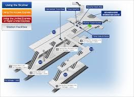 Narita Airport Floor Plan Narita Airport Terminal 1 Station Map Station Information