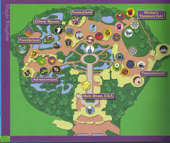Map Of Hollywood Studios Williams Family Guide To The Magic For Kids A Great Keepsake