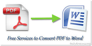 Convert Pdf To Word 5 Free Services To Convert Pdf Files To Microsoft Word Files