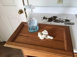 What To Clean Kitchen Cabinets With Painting Kitchen Cabinets With Rustoleum Chalk Paint Junk Love