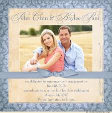 save the date announcements sweet engagement square photo card save the date