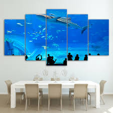 Canvas Painting For Home Decoration by Online Buy Wholesale Aquarium Painting From China Aquarium