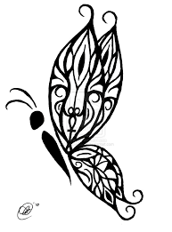 tribal butterfly tattoos tribal butterfly by