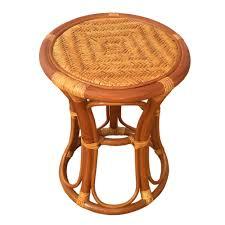 round stool tom color light brown handmade eco friendly materials