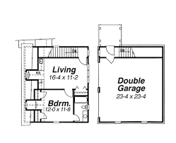 apartments over garages floor plan carnegie ii 7661 3 bedrooms and 2 baths the house designers