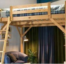 Build Your Own Wooden Bunk Beds by Loft Bed Plans How To Build A Loft Frame For Dorm Bed Interior