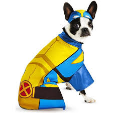 amazon com wolverine superhero pet dog costume small clothing