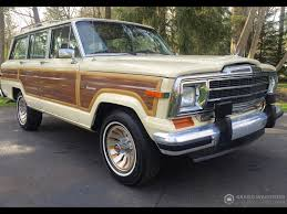 jeep wagoneer 1986 jeep grand wagoneer grand wagoneer by classic gentleman