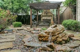 Rock Garden With Water Feature 53 Backyard Garden Waterfalls Pictures Of Designs Designing Idea