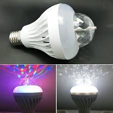 Disco Light Bulb Two Mode Cool White Rgb Auto Rotating Ktv Disco Light Dj Led Lamps