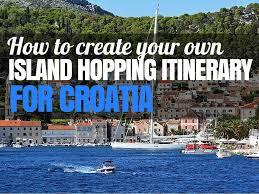 Map Of Croatia And Italy by Create A Budget Croatia Island Hopping Itinerary Croatia Travel Blog