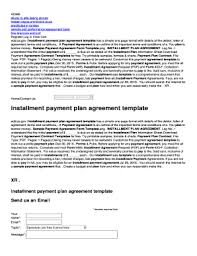 installment plan agreement template fillable simple budget template printable download finance