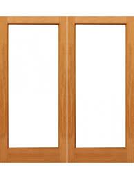Interior Doors Sizes 1 Lite Interior Brazilian Mahogany Ig Glass Double Door By Aaw