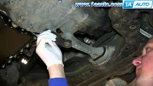 how to install replace rear engine transmission mount 1 8t 2000 05