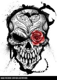 threadless day of the dead by gbillustrations on deviantart