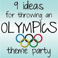 Olympic Themed Decorations Kristina Does The Internets 9 Olympics Theme Party Ideas