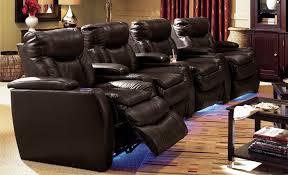 home theater 4 piece leather power recliner sectional sofa grand