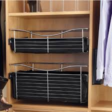 kitchen cabinets baskets 20 inch deep closet or kitchen cabinet heavy gauge wire baskets w