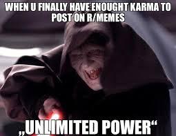 Unlimited Power Meme - funny meme kickass memes
