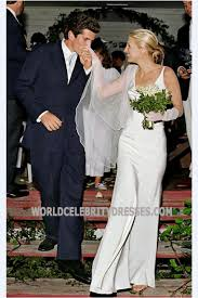 Wedding Dress For Less Bessette Kennedy Simply Gorgeous Celebrity Wedding Dresses For Less