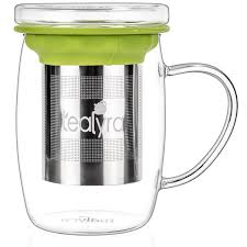 buy tea cups and mugs tea cup with lid and strainer