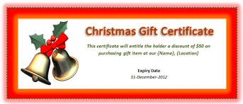 printable christmas gift vouchers printable christmas gift certificate because who wouldnt want