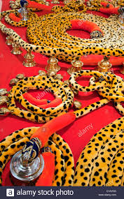ornaments for dressing up the elephants thrissur pooram festival