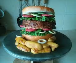 where can i get an edible image made burger and chips cake all edible cake made for a but