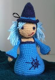 amigurumi witch pattern inma la brujita azul the little blue witch instructions in