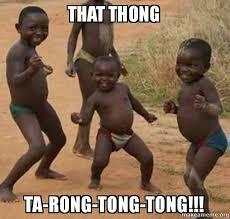 Thong Meme - that thong ta rong tong tong dancing black kids make a meme