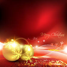 glowing christmas ornaments vector backgrounds free vector in