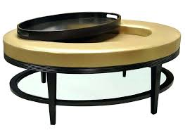 ottoman round black faux leather storage ottoman round red