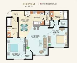 Floor Plans In Spanish Cross Creek Tampa Fl Apartment Finder