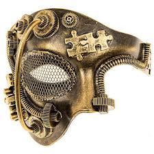 steunk masquerade mask steunk half masquerade mask 18 99 angel clothing