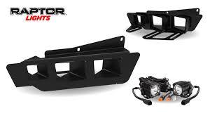 Ford Raptor Truck Bed Accessories - 2017 gen 2 raptor lights fog light bezel kit for rigid dually led u0027s