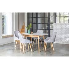 Extendable Dining Table And 4 Chairs Dining Table Sets Kitchen Table Chairs Wayfair Co Uk