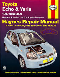 2005 toyota manual toyota echo yaris shop manual service repair book haynes vitz