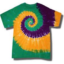 mardi gras tie youth tie dye mania mardi gras swirl tie dye