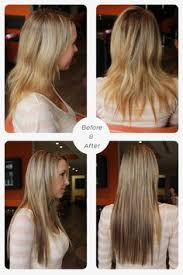hair talk extensions suzyknavishs photo hotheads hairextensions beforeandafter
