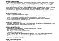 chief security officer job description pdf free download security