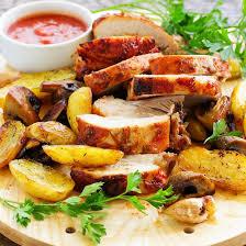 cuisiner un filet mignon au four recette filet mignon pommes de terre et chignons