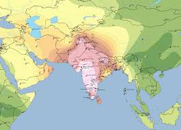 Map Of South Asia by Map Harappa Ancestry Project