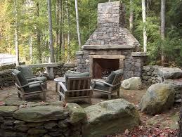 outdoor deck fireplace designs deck design and ideas