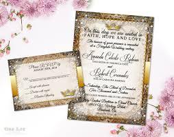 fairytale wedding invitation suite romantic wedding invitation