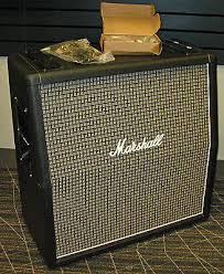 Marshall 1x12 Extension Cabinet Marshall 1960ax 4x12 100 Watt Angled Extension Cabinet Greenback