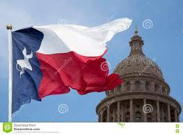 Texas State Flag Texas State Capital And Waving Flag Stock Photo Image 72862968
