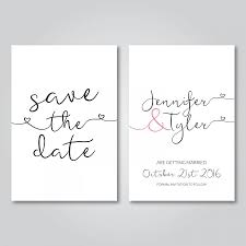 digital save the date save the date printable wedding invitation digital